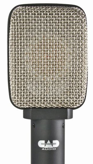 View larger image of CAD D84 Side Address Large Diaphragm Cardioid Condenser Cabinet/Percussion Microphone