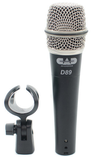 View larger image of CAD D89 Premium Supercardioid Dynamic Instrument Microphone