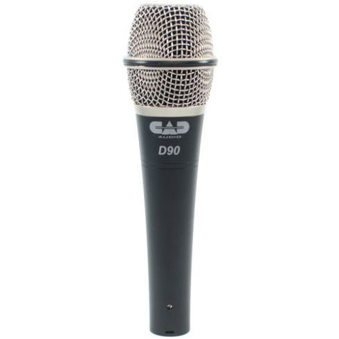 View larger image of CAD D90 Premium Supercardioid Dynamic Handheld Microphone