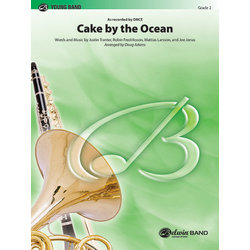 Cake by the Ocean (DNCE) - Score & Parts, Grade 2