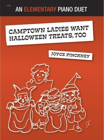 View larger image of Camptown Ladies Want Halloween Treats, Too! - Piano Duet (1P4H)