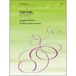 Can Can (from Orpheus In The Underworld) - Flute Quartet