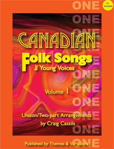 View larger image of Canadian Folk Songs for Young Voices Vol.1 w/CD, SA