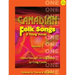 Canadian Folk Songs for Young Voices Vol.1 w/CD, SA