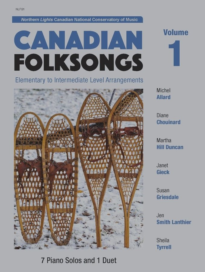 View larger image of Canadian Folksongs Vol.1 - Piano Solos and Duets (1P4H