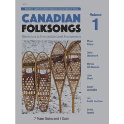 Canadian Folksongs Vol.1 - Piano Solos and Duets (1P4H