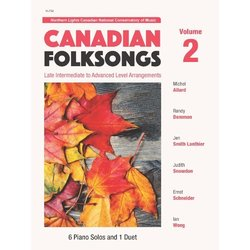 Canadian Folksongs Volume 2 - Piano Solos and Duets (1P4H)
