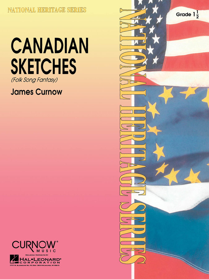 View larger image of Canadian Sketches - Score & Parts, Grade 1.5