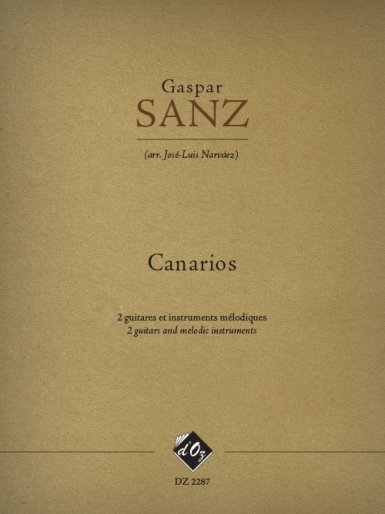 View larger image of Canarios (Sanz) - Guitar Duet