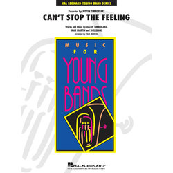 Can't Stop the Feeling (Justin Timberlake) - Score & Parts, Grade 3