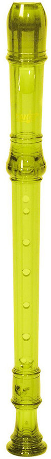 View larger image of Canto CR101Y 1-Piece Soprano Recorder - Translucent Yellow