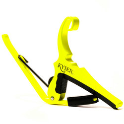 Kyser Special Edition Neon Collection Quick-Change Capo - Neon Yellow