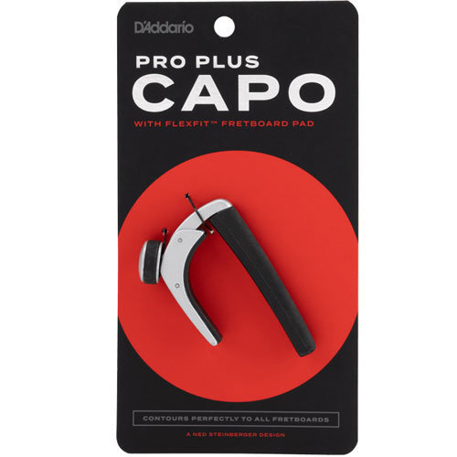 View larger image of Planet Waves PW-CP-19S Pro Plus Guitar Capo - Silver