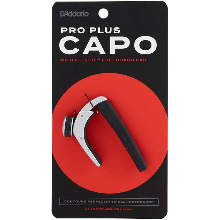 View larger image of Planet Waves Pro Plus Guitar Capo - Silver
