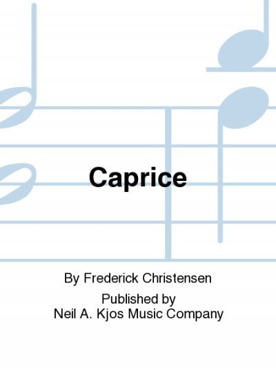 View larger image of Caprice - Flute / Clarinet Duet
