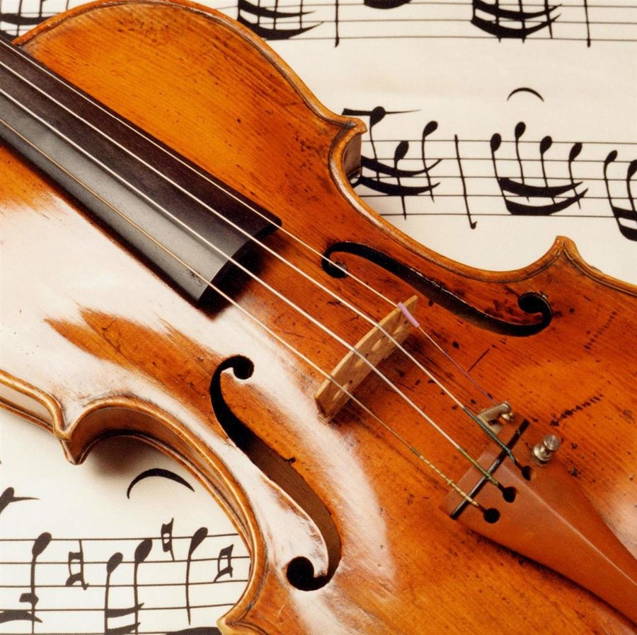 View larger image of Card - Violin