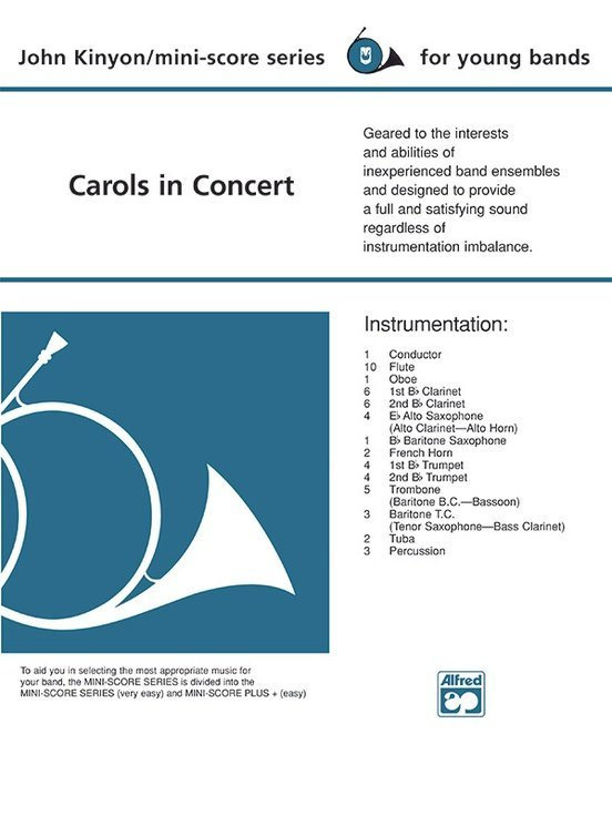 View larger image of Carols in Concert - Score & Parts, Grade 1