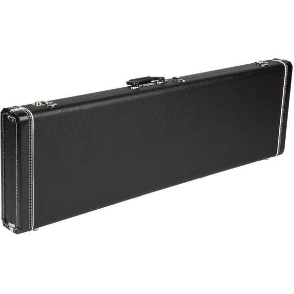 View larger image of Fender Deluxe Bass VI Hardshell Case - Black with Red Crush Interior
