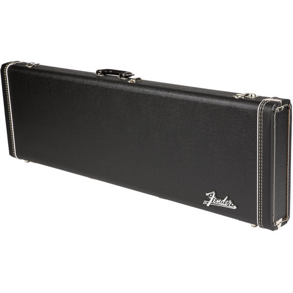View larger image of Fender G&G Deluxe Precision Bass Hardshell Case - Black with Orange Plush Interior