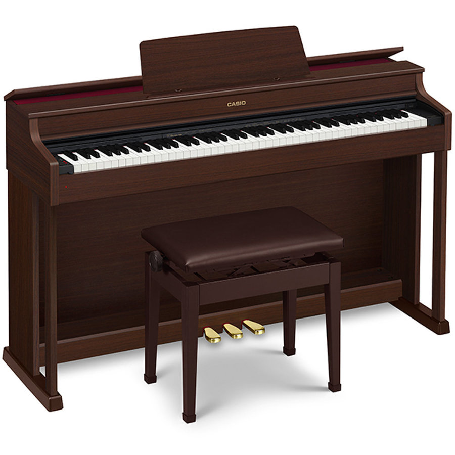 View larger image of Casio AP-470 Celviano Digital Piano - Cabinet, Bench, Brown