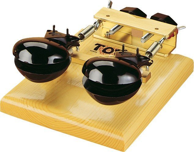 View larger image of Toca Castanet Machine with Mount - Wood