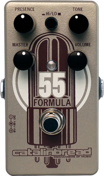 View larger image of Catalinbread Formula No. 55 Overdrive Pedal