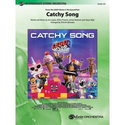 Catchy Song (The LEGO Movie 2: The Second Part) - Score & Parts, Grade 2.5