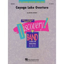 Cayuga Lake Overture - Score & Parts, Grade 1.5