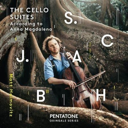 View larger image of The Cello Suites According to Anna Magdalena (J.S Bach) - Matt Haimovitz - CD