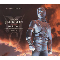 CD Michael Jackson - HIStory: Past Present and Future Book