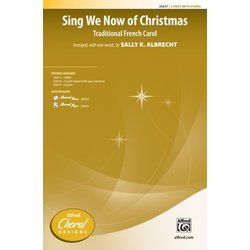 Sing We Now of Christmas - Choral Rehearsal Trax CD