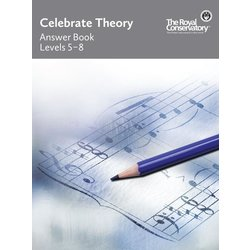 Celebrate Theory Answer Book - Levels 5 to 8