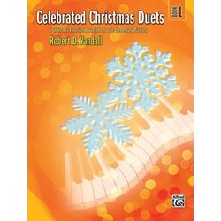 Celebrated Christmas Duets, Book 1 (1P4H)