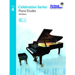 Celebration Series Piano Etudes 2015 Edition - Level 4