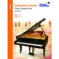 Celebration Series Piano Repertoire 2015 Edition - Level 1