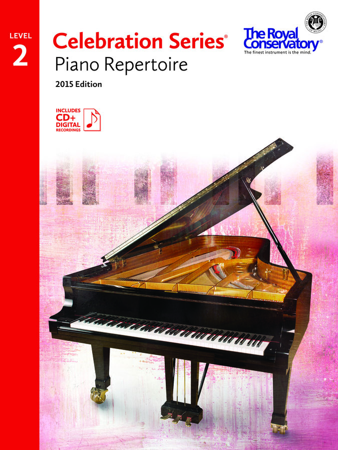 View larger image of Celebration Series Piano Repertoire 2015 Edition - Level 2