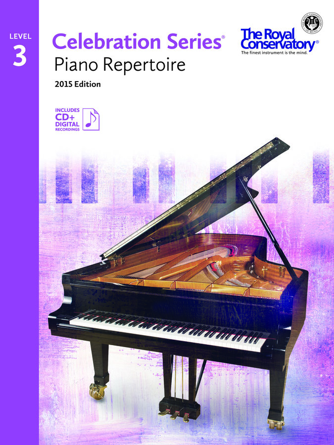 View larger image of Celebration Series Piano Repertoire 2015 Edition - Level 3