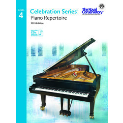 Celebration Series Piano Repertoire 2015 Edition - Level 4