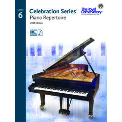 Celebration Series Piano Repertoire 2015 Edition - Level 6