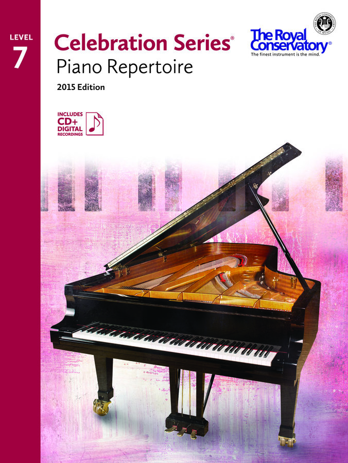 View larger image of Celebration Series Piano Repertoire 2015 Edition - Level 7