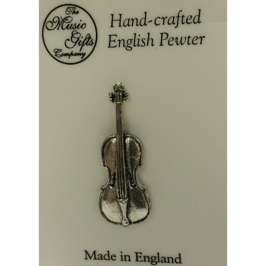 View larger image of Cello Pin - Pewter