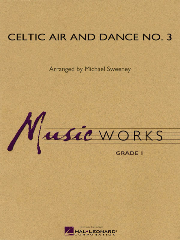 View larger image of Celtic Air and Dance No.3 - Score, Grade 1.5