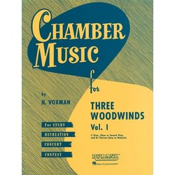 Chamber Music for Three Woodwinds Vol.1 - (Flute/Clarinet/Oboe)