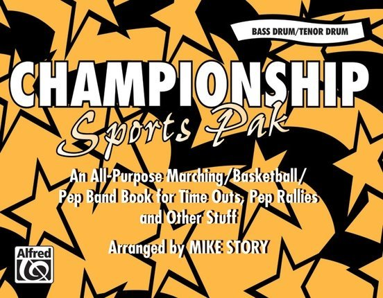 View larger image of Championship Sports Pak (arr.Story) - Bass Drum