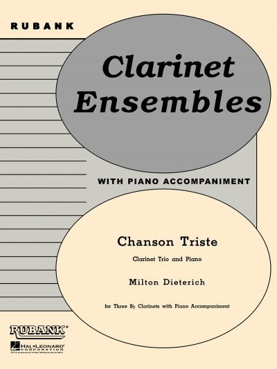 View larger image of Chanson Triste - Clarinet Trio