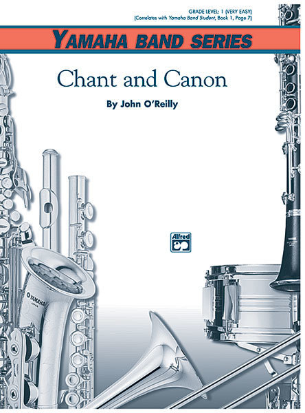 View larger image of Chant and Canon - Score & Parts, Grade 1