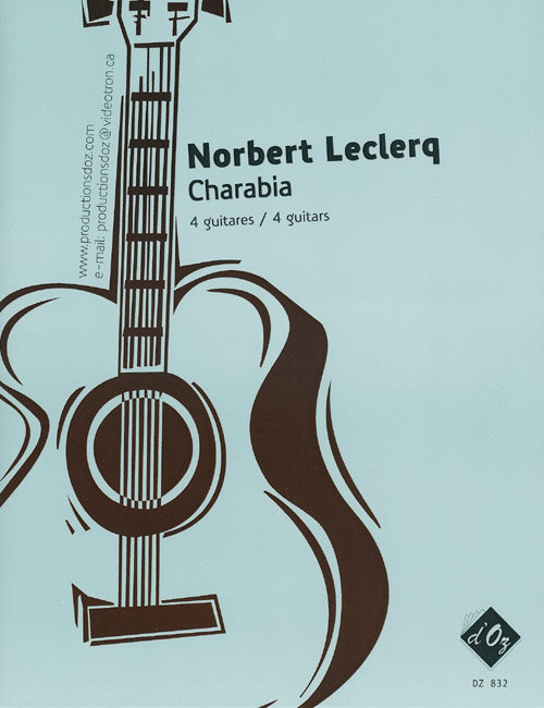 View larger image of Charabia (Leclercq) - Guitar Quartet