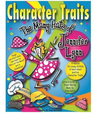 View larger image of Character Traits w/CD (musical revue)