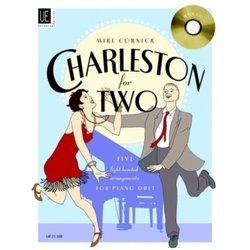 Charleston For 2 w/CD - Piano Duet/1P$H