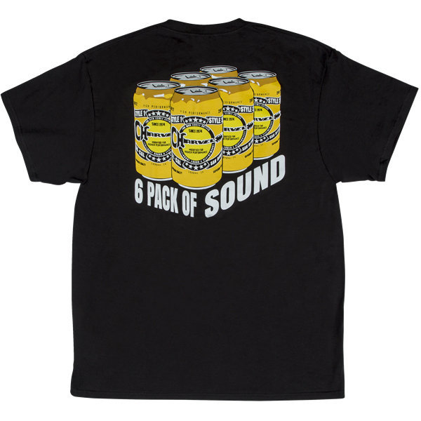 View larger image of Charvel 6 Pack of Sound T-Shirt - Black, Small